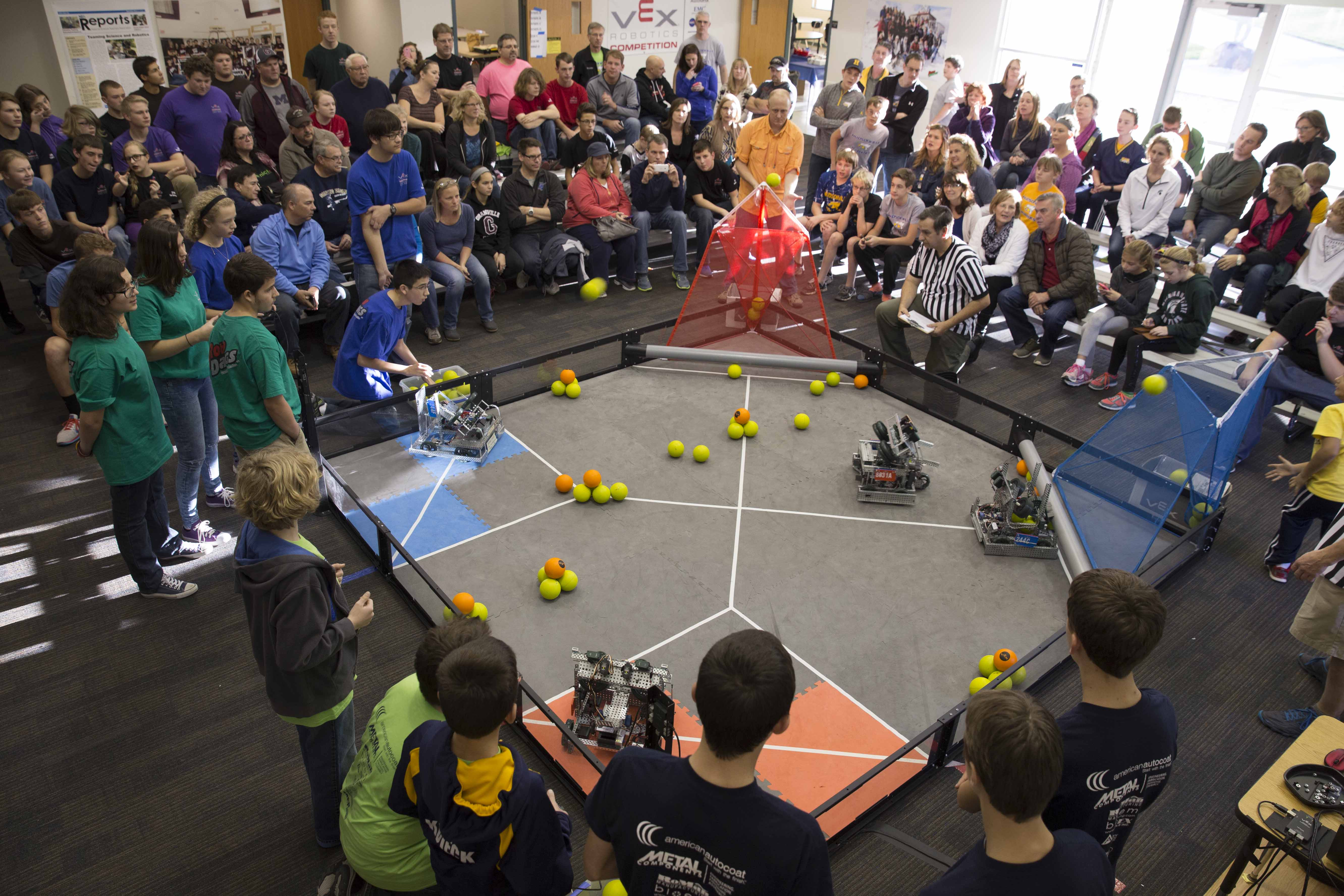 RoboDawgs - VEX Tournament 111415 - -11